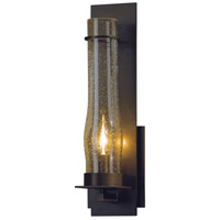 Hubbardton Forge 204255-1001 New Town 1 Light 5 inch Bronze Sconce Wall Light Large