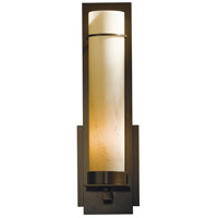 Hubbardton Forge 204265-1005 New Town 1 Light 5 inch Bronze Sconce Wall Light in Stone Incandescent Large