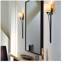 Hubbardton Forge 204670-1007 Formae Contemporary 1 Light 6 inch Dark Smoke Sconce Wall Light in Stone