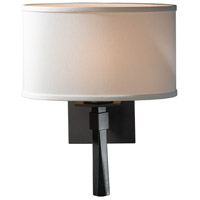 Hubbardton Forge 204810-1018 Beacon Hall 1 Light 11 inch Burnished Steel Sconce Wall Light in Incandescent Natural Anna