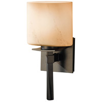 Hubbardton Forge 204820-1010 Beacon Hall 1 Light 6 inch Burnished Steel ADA Sconce Wall Light in Stone Incandescent