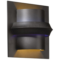 Hubbardton Forge 204915-1009 Twilight 1 Light 7 inch Dark Smoke ADA Sconce Wall Light in Blue