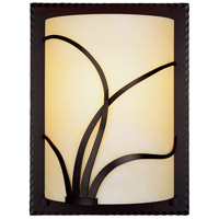 Forged Reeds 1 Light 9 inch Mahogany ADA Sconce Wall Light