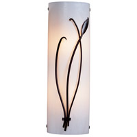 Hubbardton Forge 205770-1106 Forged Leaf and Stem 2 Light 6 inch Gold Sconce Wall Light thumb