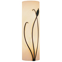 Hubbardton Forge 205772-1010 Forged Leaf and Stem LED 5 inch Dark Smoke ADA Sconce Wall Light thumb