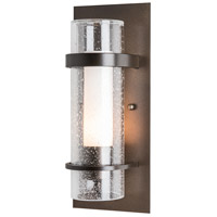 Hubbardton Forge 205814-1001 Banded 1 Light 5 inch Bronze ADA Sconce Wall Light