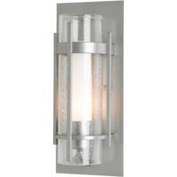 Hubbardton Forge 205894-1007 Banded 1 Light 5 inch Vintage Platinum Sconce Wall Light