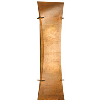 Hubbardton Forge 205950-1007 Bento 3 Light 7 inch Dark Smoke Sconce Wall Light in Fluorescent, Cork photo thumbnail