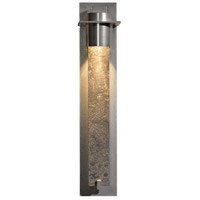 Hubbardton Forge 206455-1002 Airis 1 Light 5 inch Vintage Platinum Sconce Wall Light in Reflect Texture Textured plate