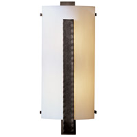 Hubbardton Forge 206729-1002 Forged Vertical Bar 2 Light 8 inch Dark Smoke ADA Sconce Wall Light in Incandescent