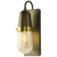 Hubbardton Forge 207470-1007 Fizz 1 Light 5 inch Soft Gold with Brass Accent Sconce Wall Light thumb
