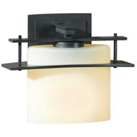 Hubbardton Forge 207521-1009 Arc Ellipse 1 Light 9 inch Burnished Steel ADA Sconce Wall Light in Opal Incandescent