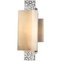 Hubbardton Forge 207693-1001 Oceanus 1 Light 5 inch Vintage Platinum ADA Sconce Wall Light in Stone