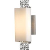 Hubbardton Forge 207693-1002 Oceanus 1 Light 5 inch Vintage Platinum ADA Sconce Wall Light in Pearl