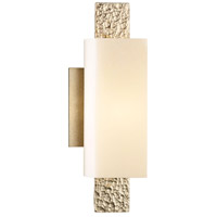 Hubbardton Forge 207693-1005 Oceanus 1 Light 5 inch Soft Gold ADA Sconce Wall Light in Pearl