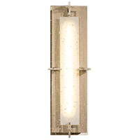 Hubbardton Forge 207760-1001 Ethos LED 6 inch Soft Gold ADA Sconce Wall Light