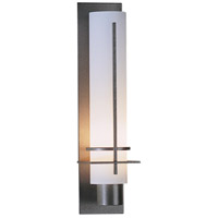 Hubbardton Forge 207858-1009 After Hours 1 Light 3 inch Burnished Steel ADA Sconce Wall Light in Opal