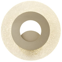 Hubbardton Forge 209335-1007 Orbit LED 13 inch Soft Gold ADA Sconce Wall Light