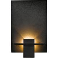 Hubbardton Forge 217510-1029 Aperture 1 Light 8 inch Dark Smoke ADA Sconce Wall Light in White Art