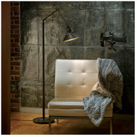 Hubbardton Forge 242215-1020 Henry 60 watt Dark Smoke with Dark Smoke Accent Floor Lamp Portable Light