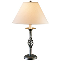 Hubbardton Forge 265001-1025 Twist Basket 26 inch 150 watt Natural Iron Table Lamp Portable Light