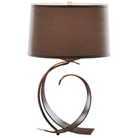 Fullered Impressions 22 inch 150 watt Bronze Table Lamp Portable Light