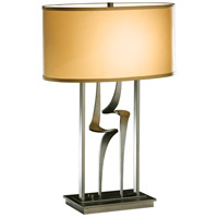Hubbardton Forge 272815-1010 Antasia 100 watt Dark Smoke Table Lamp Portable Light