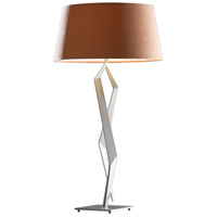 Hubbardton Forge 272850-1057 Facet 9 watt Burnished Steel Table Lamp Portable Light photo thumbnail