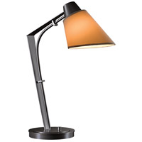 Hubbardton Forge 272860-1012 Reach 100 watt Dark Smoke Table Lamp Portable Light