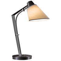 Hubbardton Forge 272860-1015 Reach 100 watt Dark Smoke Table Lamp Portable Light