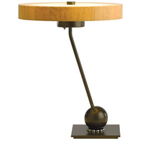 Hubbardton Forge 272865-1006 Disq Dark Smoke Table Lamp Portable Light