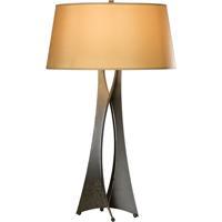 Hubbardton Forge 273077-1013 Moreau 150 watt Dark Smoke Table Lamp Portable Light Tall