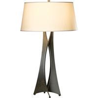 Hubbardton Forge 273077-1017 Moreau 150 watt Dark Smoke Table Lamp Portable Light Tall