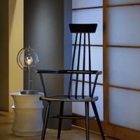 Hubbardton Forge 274120-1005 Pluto 100 watt Dark Smoke Table Lamp Portable Light