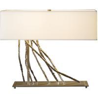 Hubbardton Forge 277660-1018 Brindille 60 watt Burnished Steel Table Lamp Portable Light