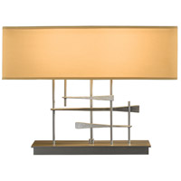 Hubbardton Forge 277670-1015 Cavaletti 60 watt Burnished Steel Table Lamp Portable Light