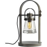 Hubbardton Forge 277810-1002 Erlenmeyer 60 watt Dark Smoke Table Lamp Portable Light