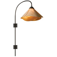Hubbardton Forge 289450-1023 Arc 1 Light 14 inch Dark Smoke Pin Up Sconce Wall Light in Incandescent Cork