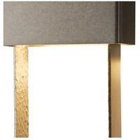 Hubbardton Forge 302512-1009 Quad LED 20 inch Coastal Burnished Steel Outdoor Sconce, Large