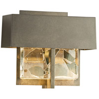 Hubbardton Forge 302515-1009 Shard LED 7 inch Coastal Burnished Steel Outdoor Sconce Small