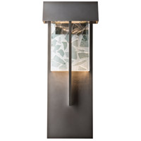 Hubbardton Forge 302518-1005 Shard LED 21 inch Coastal Dark Smoke Outdoor Sconce