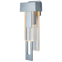 Hubbardton Forge 302531-1003 Rainfall LED 19 inch Coastal Burnished Steel Outdoor Sconce