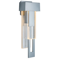 Hubbardton Forge 302531-1011 Rainfall LED 19 inch Coastal Burnished Steel Outdoor Sconce