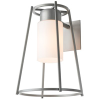 Hubbardton Forge 302570-1005 Loft 1 Light 14 inch Coastal Burnished Steel Outdoor Sconce Small