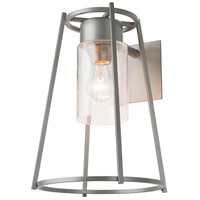 Hubbardton Forge 302570-1011 Loft 1 Light 14 inch Coastal Burnished Steel Outdoor Sconce Small