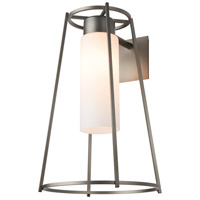 Hubbardton Forge 302573-1004 Loft 1 Light 19 inch Coastal Dark Smoke Outdoor Sconce