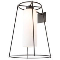 Hubbardton Forge 302575-1000 Loft 1 Light 24 inch Black Outdoor Sconce Large