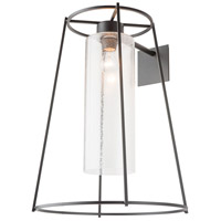Hubbardton Forge 302575-1006 Loft 1 Light 24 inch Black Outdoor Sconce Large
