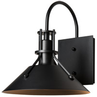 Hubbardton Forge 302711-1000 Henry 1 Light 11 inch Coastal Black Outdoor Sconce