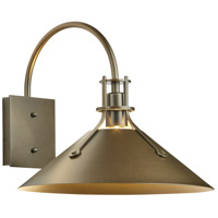Hubbardton Forge 302712-1007 Henry 1 Light 13 inch Coastal Bronze Outdoor Sconce Medium